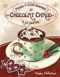 Hot Cocoa Mint Art Print