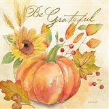 Welcome Fall - Be Grateful Art Print