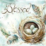Nest Blessed Art Print