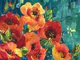 Rainbow Garden Landscape Art Print