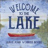 Lake Living III (welcome lake) Art Print