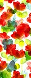 Tropical Floral Panel I Art Print