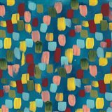 Rainbow Garden Abstract Art Print
