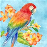 Tropical Paradise Brights I Art Print