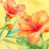 Tropical Paradise Brights II Art Print