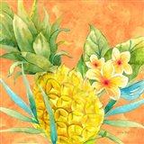 Tropical Paradise Brights III Art Print