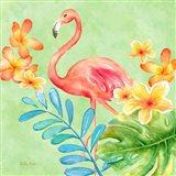 Tropical Paradise Brights IV Art Print