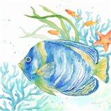 Sea Life Serenade I Art Print