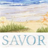 Savor the Sea III Art Print