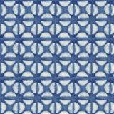 Blue Shibori I (blue coffee bean) Art Print