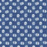 Blue Shibori II Art Print