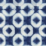 Blue Shibori III Art Print