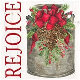 Home for the Holidays Rejoice Art Print