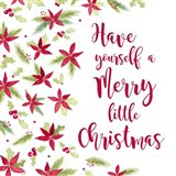 Be Joyful Merry Little Christmas Art Print