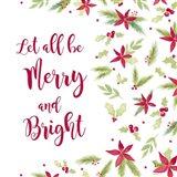 Be Joyful Merry and Bright Art Print