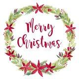 Be Joyful Merry Christmas Art Print