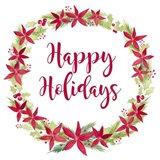 Be Joyful Happy Holidays Art Print