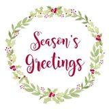 Be Joyful Season's Greetings Art Print