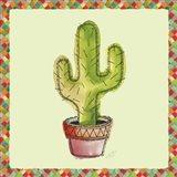Rainbow Cactus II Art Print