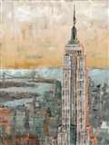 Empire State Building Abstract Art Print