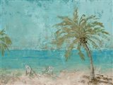 Beach Day Landscape I Art Print