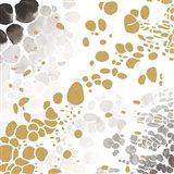 Speckled Trio I Art Print