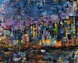 New York Abstract Art Print