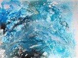 Galaxy abstract Art Print