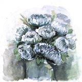 Potted Chrysanthemums Art Print