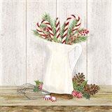 Christmas Kitchen IV Art Print