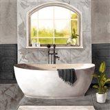 Marble Bath I black & white Art Print