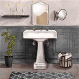 Serene Bath I black & white Art Print