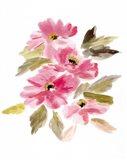 Farmhouse Florals V Art Print
