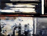 Modern Abstract IV landscape Art Print