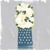 Contemporary Flower Jar I Art Print