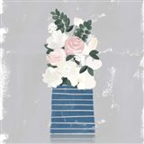 Contemporary Flower Jar II Art Print