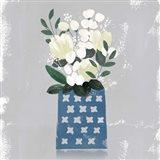 Contemporary Flower Jar III Art Print