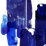 Indigo Abstract I Art Print