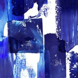 Indigo Abstract II Art Print