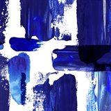 Indigo Abstract III Art Print