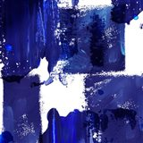 Indigo Abstract IV Art Print