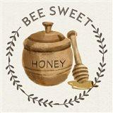 Bee Hive III-Bee Sweet Art Print
