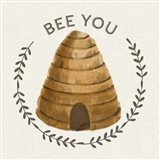 Bee Hive IV-Bee You Art Print