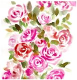 Bunches of Pink Square Art Print