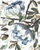 Farmhouse Blue Bush I Art Print