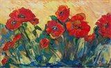 Flamboyant Poppies Art Print