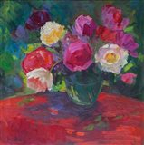 Petals and Passion Art Print