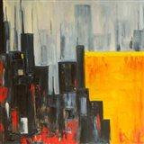 The City that Never Sleeps II Art Print