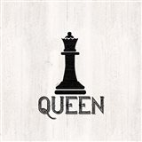Chess Piece II-Queen Art Print