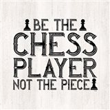 Chess Sentiment I-Player Art Print